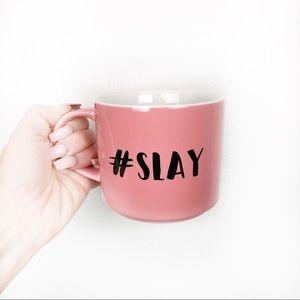 Coco + Lola #SLAY Pink Large Coffee Tea Mug